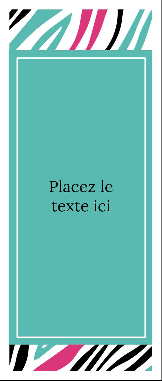 """2"""" x 3½"""" Carte d'affaire - Empreintes d'animaux"""