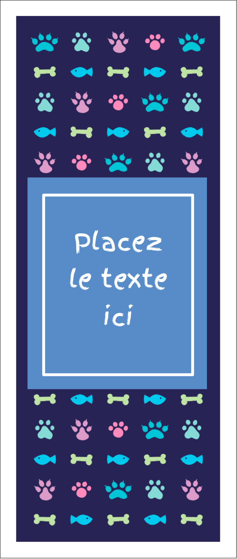 """2"""" x 3½"""" Carte d'affaire - Amis poilus"""