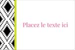 Damas décoratif Étiquettes rectangulaires - gabarit prédéfini. <br/>Utilisez notre logiciel Avery Design & Print Online pour personnaliser facilement la conception.