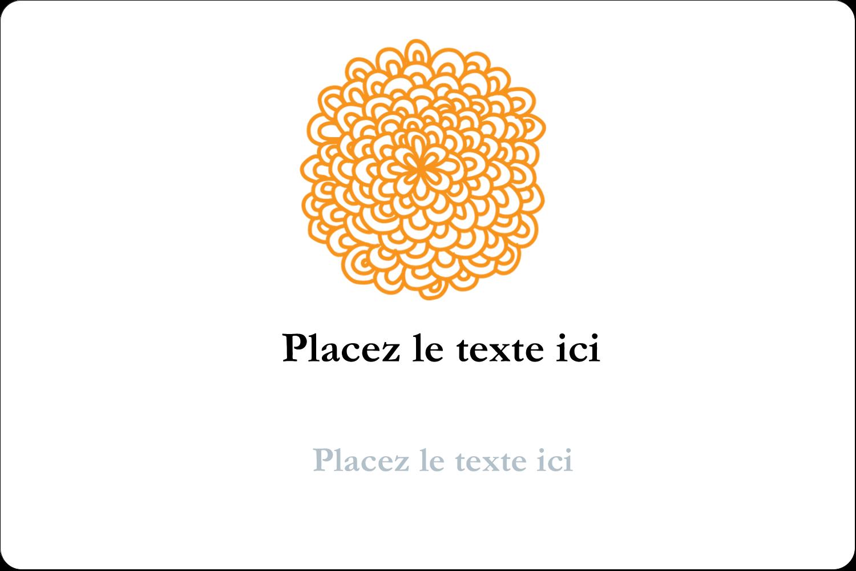 """3"""" x 3¾"""" Étiquettes rectangulaires - Ex-libris générique"""