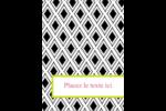 Damas décoratif Étiquettes rondes - gabarit prédéfini. <br/>Utilisez notre logiciel Avery Design & Print Online pour personnaliser facilement la conception.