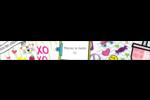 Supermotifs Étiquettes ovales - gabarit prédéfini. <br/>Utilisez notre logiciel Avery Design & Print Online pour personnaliser facilement la conception.