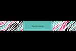Empreintes d'animaux Étiquettes ovales - gabarit prédéfini. <br/>Utilisez notre logiciel Avery Design & Print Online pour personnaliser facilement la conception.