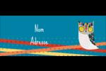 Hibou rusé Étiquettes D'Adresse - gabarit prédéfini. <br/>Utilisez notre logiciel Avery Design & Print Online pour personnaliser facilement la conception.