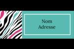 Empreintes d'animaux Étiquettes D'Adresse - gabarit prédéfini. <br/>Utilisez notre logiciel Avery Design & Print Online pour personnaliser facilement la conception.