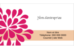 Fête prénuptiale en rose et orange Carte d'affaire - gabarit prédéfini. <br/>Utilisez notre logiciel Avery Design & Print Online pour personnaliser facilement la conception.