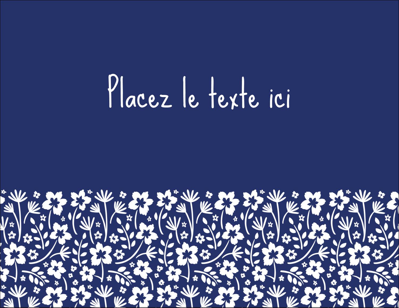 """4¼"""" X 5½"""" Carte Postale - Petit bouquet bleu"""