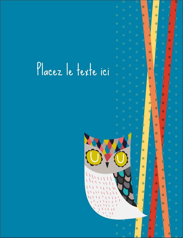 """5½"""" x 4¼"""" Carte Postale - Hibou rusé"""