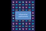 Amis poilus Carte Postale - gabarit prédéfini. <br/>Utilisez notre logiciel Avery Design & Print Online pour personnaliser facilement la conception.