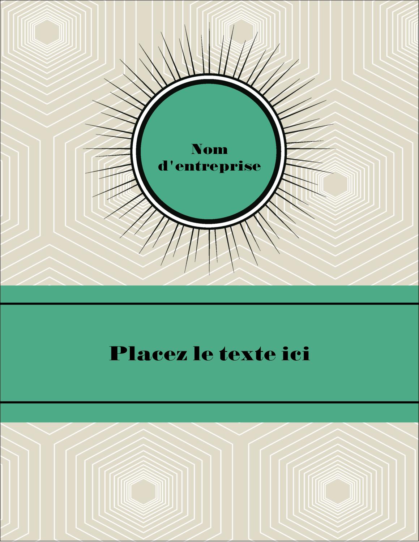 "5½"" x 4¼"" Carte Postale - Explosion de vert"