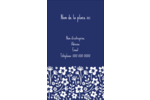 Petit bouquet bleu Carte d'affaire - gabarit prédéfini. <br/>Utilisez notre logiciel Avery Design & Print Online pour personnaliser facilement la conception.