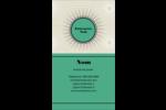 Explosion de vert Carte d'affaire - gabarit prédéfini. <br/>Utilisez notre logiciel Avery Design & Print Online pour personnaliser facilement la conception.