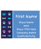 Bring adorable charm to your project with pre-designed Furry Friends templates.
