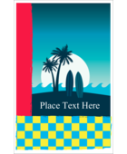 Add a sense of thrilling adventure to projects with pre-designed Tropical Surf templates.