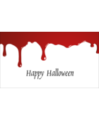 Add a slice of terror to custom projects with pre-designed Bloody Halloween templates.