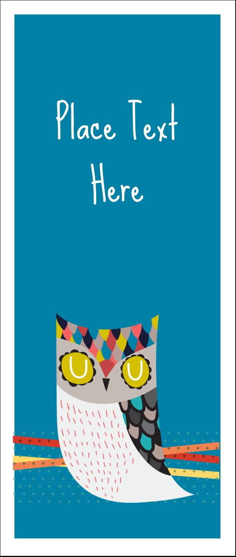 "1¾"" x 5½"" Printable Tickets - Artful Owl"