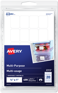 Avery<sup>®</sup> Multi-Purpose Removable Labels 2313
