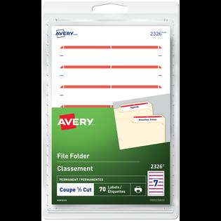 Avery® File Folder Labels