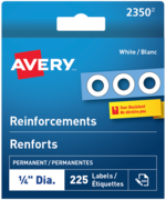 Avery<sup>&reg;</sup> White Reinforcement Labels 2350