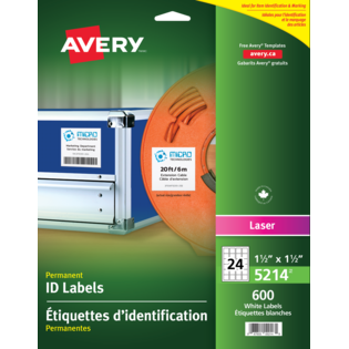 Avery® Permanent ID Labels