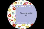 Fleurs printanières Étiquettes de classement - gabarit prédéfini. <br/>Utilisez notre logiciel Avery Design & Print Online pour personnaliser facilement la conception.