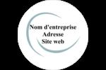 Ellipse Étiquettes arrondies - gabarit prédéfini. <br/>Utilisez notre logiciel Avery Design & Print Online pour personnaliser facilement la conception.