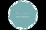 Filigrane Étiquettes arrondies - gabarit prédéfini. <br/>Utilisez notre logiciel Avery Design & Print Online pour personnaliser facilement la conception.