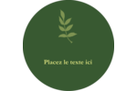Rameau d'olivier  Étiquettes de classement - gabarit prédéfini. <br/>Utilisez notre logiciel Avery Design & Print Online pour personnaliser facilement la conception.