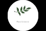 Rameau d'olivier simple Étiquettes de classement - gabarit prédéfini. <br/>Utilisez notre logiciel Avery Design & Print Online pour personnaliser facilement la conception.