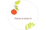Fruits rétro Étiquettes de classement - gabarit prédéfini. <br/>Utilisez notre logiciel Avery Design & Print Online pour personnaliser facilement la conception.