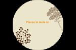 Illustrations florales Étiquettes de classement - gabarit prédéfini. <br/>Utilisez notre logiciel Avery Design & Print Online pour personnaliser facilement la conception.