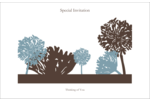 Add refined style to projects with customizable, pre-designed Flower Silhouette templates.