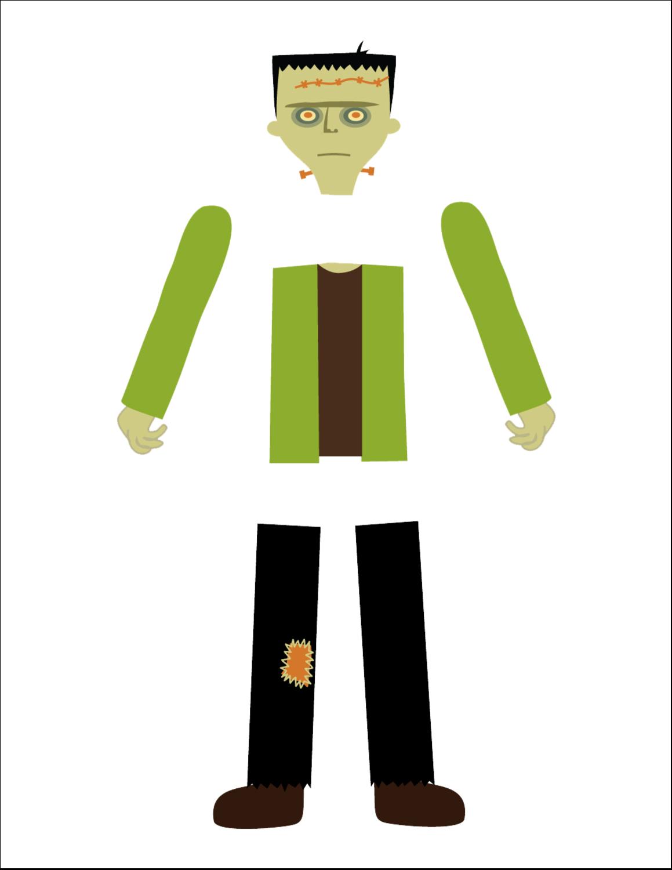 "8½"" x 11"" T-Shirt-Tranfers - Frankenstein and Bride"