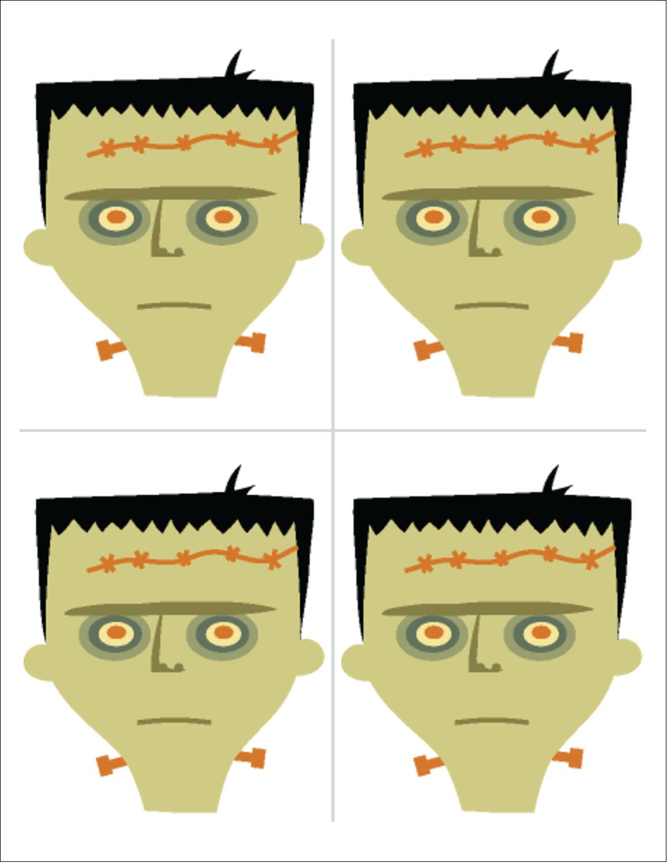 "8½"" x 11"" Magnet Sheets - Frankenstein and Bride"