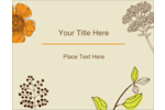 Customize projects with the delicate beauty of pre-designed Floral Illustrations templates.
