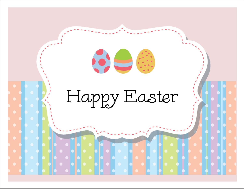 "5½"" x 4¼"" Note Card - Polka Dotted Egg"