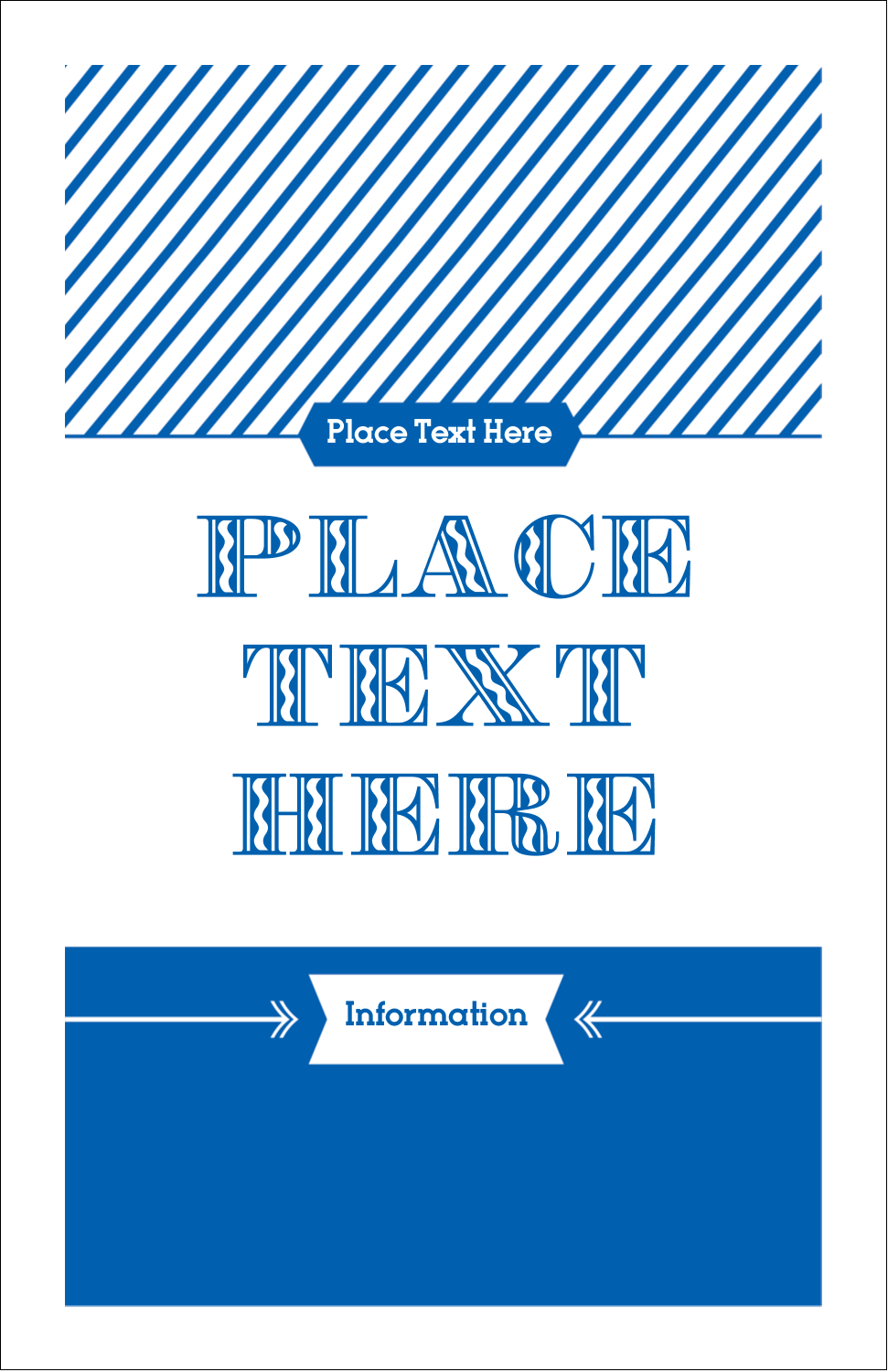 Give the impression of classic technique and style with the Letterpress template.
