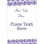 Purple Lace Wedding