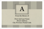 Infuse personal flair into custom projects with pre-designed Bookplate Initial templates.