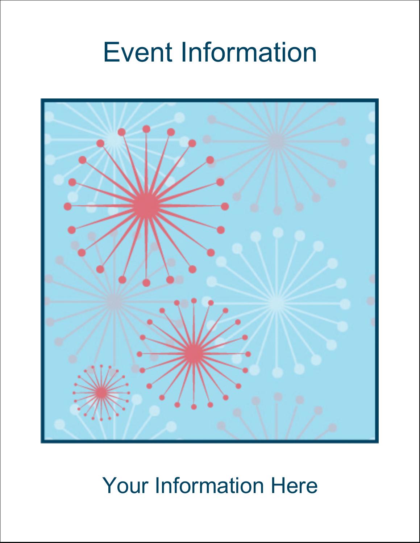 "5½"" x 8½"" Greeting Card - Simple Celebration"