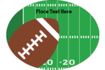 TOUCHDOWN! Get off the sidelines and touchdown on the goal line! Share your love of sports by creating labels and cards with your favourite green sports field and personalize the Football Field predesigned template.