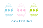 Get all your eggs in a row this Easter and decorate Easter crafts project with a Trio!