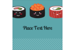 Personalize your projects with playful, pre-designed Sushi Emojis templates.