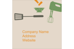 Customize personal or professional projects with pre-designed Kitchen Tools templates.
