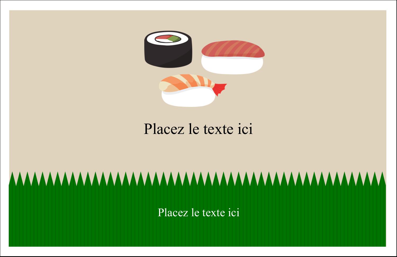 """8½"""" x 11"""" Cartes Et Articles D'Artisanat Imprimables - Sushis"""
