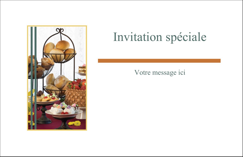 """8½"""" x 11"""" Cartes Et Articles D'Artisanat Imprimables - Pain et dessert"""