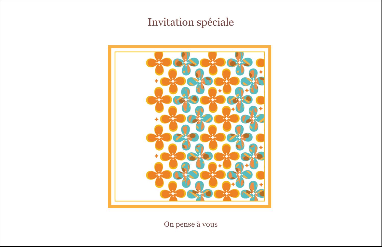"""8½"""" x 11"""" Cartes Et Articles D'Artisanat Imprimables - Motif fleuri"""