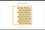 Motif fleuri Cartes Et Articles D'Artisanat Imprimables - gabarit prédéfini. <br/>Utilisez notre logiciel Avery Design & Print Online pour personnaliser facilement la conception.