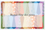Cravate de la Fête des Pères Cartes Et Articles D'Artisanat Imprimables - gabarit prédéfini. <br/>Utilisez notre logiciel Avery Design & Print Online pour personnaliser facilement la conception.