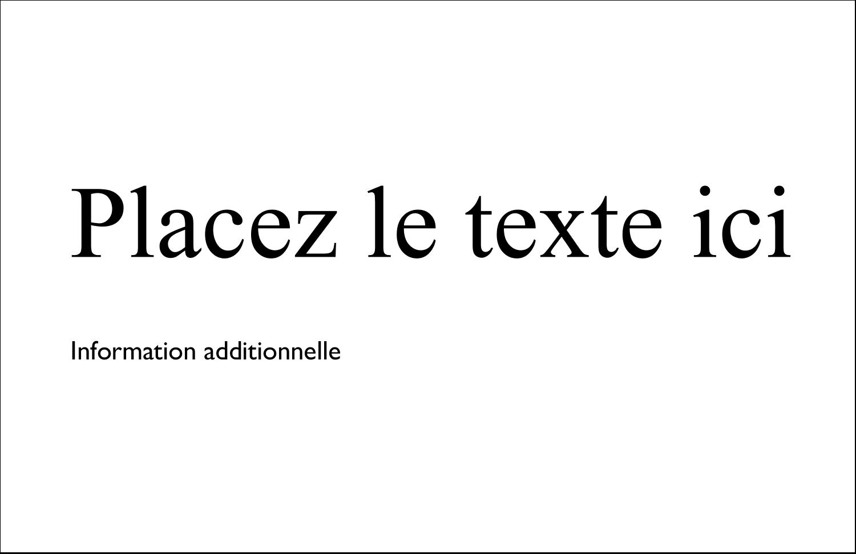 """8½"""" x 11"""" Cartes Et Articles D'Artisanat Imprimables - Lettres d'enfant en gras"""
